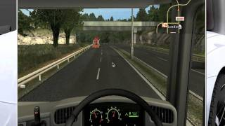 Uk Truck Simulator speeding