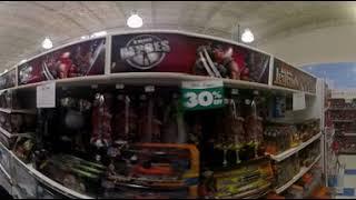 Walking Through ToysRUs   Store Closing   360 Video   4K