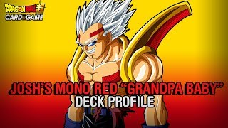 1ST PLACE MONO RED
