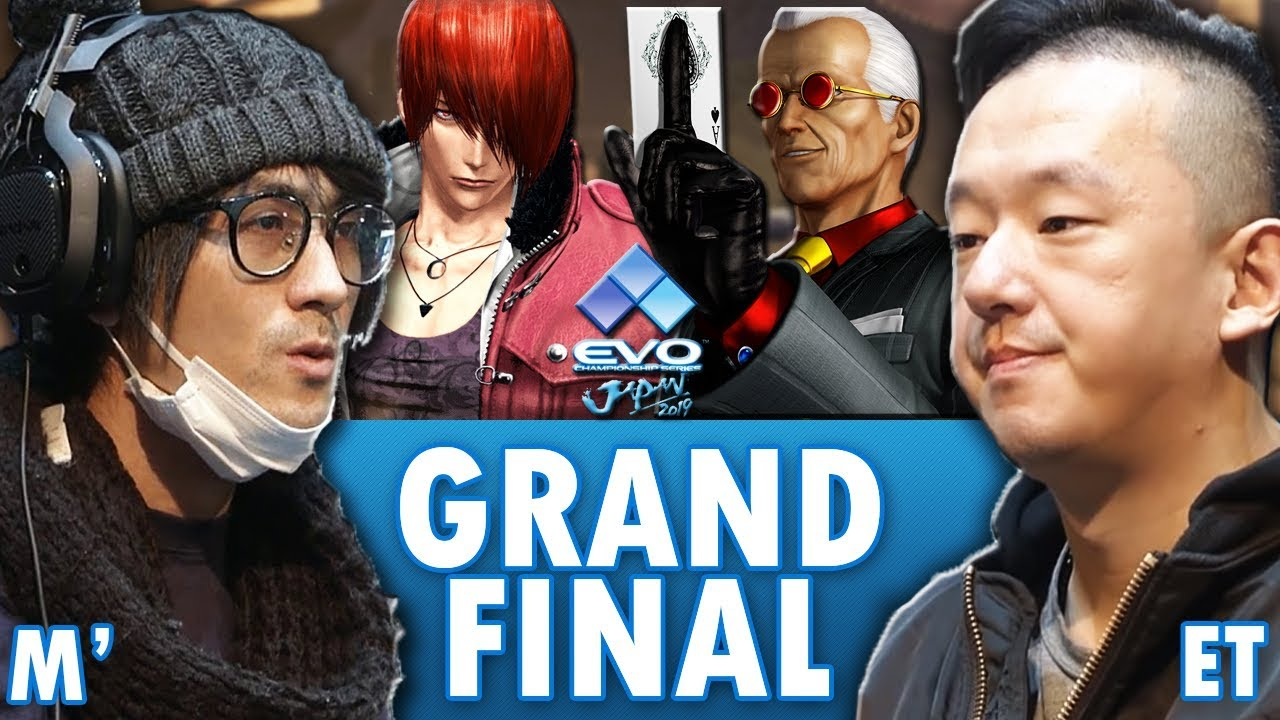 EVO JAPAN 2019  (GRAND FINALS: M' vs ET ) The King of Fighters XIV