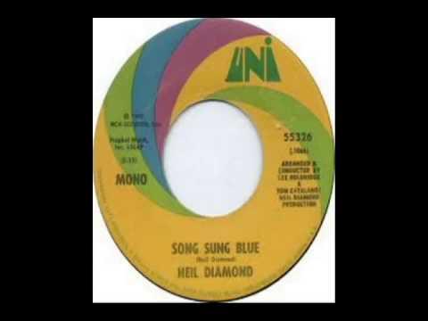 Neil Diamond Song Sung Blue 1972 Youtube
