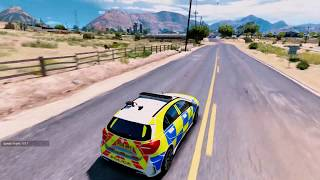 Police Mercedes Benz AMG A45 🔥 GTA V Free Download Mod Install