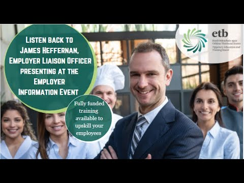 Watch this to learn more about Upskilling Opportunities - Hospitality Sector #TipperaryETB