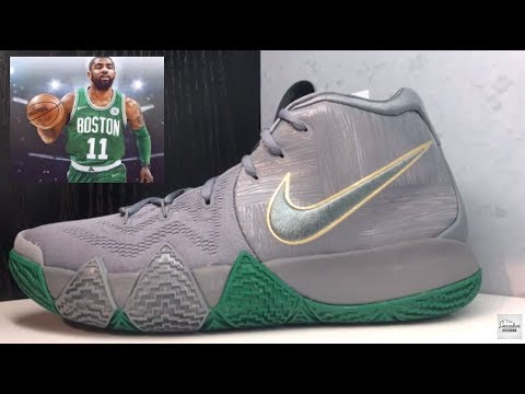 timeless design 59a92 954ab Nike Kyrie Irving 4 Boston Celtics City Series Sneaker Honest Review