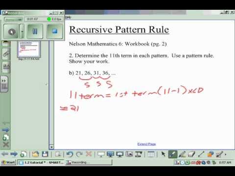 math worksheet : recursive pattern worksheets grade 6  grade worksheets : Grade 6 Math Patterning Worksheets