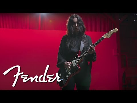 Chelsea Wolfe & The American Professional Jazzmaster | Fender