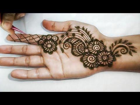 front hand mehndi simple mehndi designs images