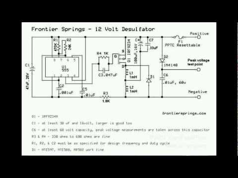 how to build a miltary battery desulfator