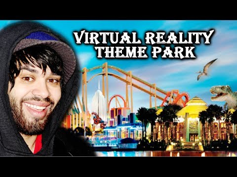 Theme Park RiIn Virtual Reality! | Theme Park VR (Oculus Rift)
