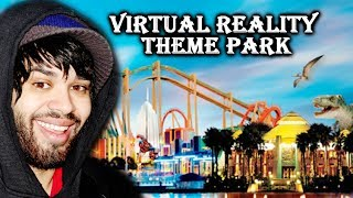 Theme Park In Virtual Reality! - Oculus Rift