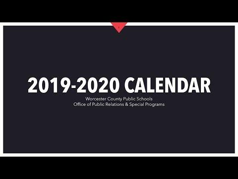 Worcester Public Schools Calendar 2020 Calendar Development   Worcester County Public Schools