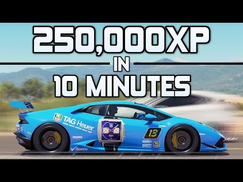 Forza Horizon 3 - 250,000XP in 10 MINUTES - The New Best XP Method