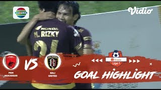 PSM Makassar (1) vs Bali United FC (0) - Goal Highlights | Shopee Liga 1