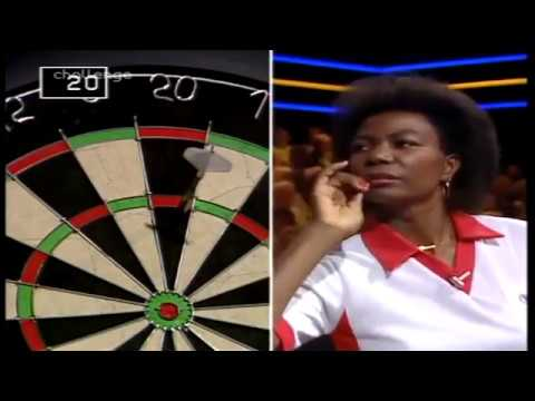 Deta Hedman on Bullseye (1991)