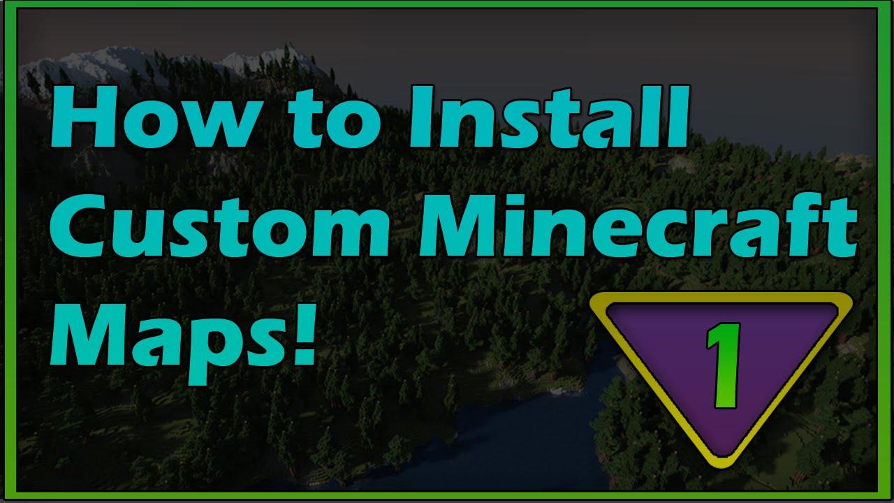 1 how to download and install custom minecraft maps 1 8 4 - Planetminecraft com ...