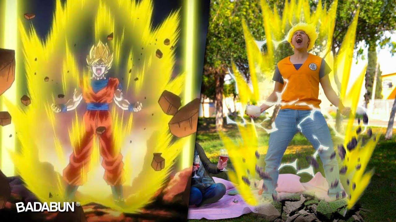 Poderes De Dragon Ball En La Vida Real Youtube