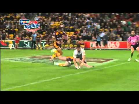 NRL 2011 Round 21 Highlights: Broncos V Sharks