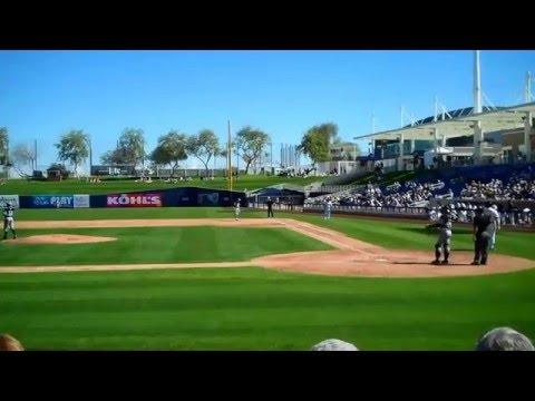 Joe Pavlovich Strikes Out The Side Against Major Leaguers
