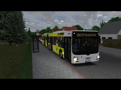 Lets Play Omsi 2 Busbetrieb Simulator Singleplayer