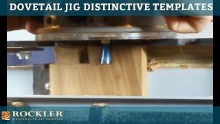 Rockler Dovetail Jig Distinctive Series Templates