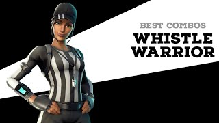 Best Combos | Whistle Warrior | Fortnite Skin Review