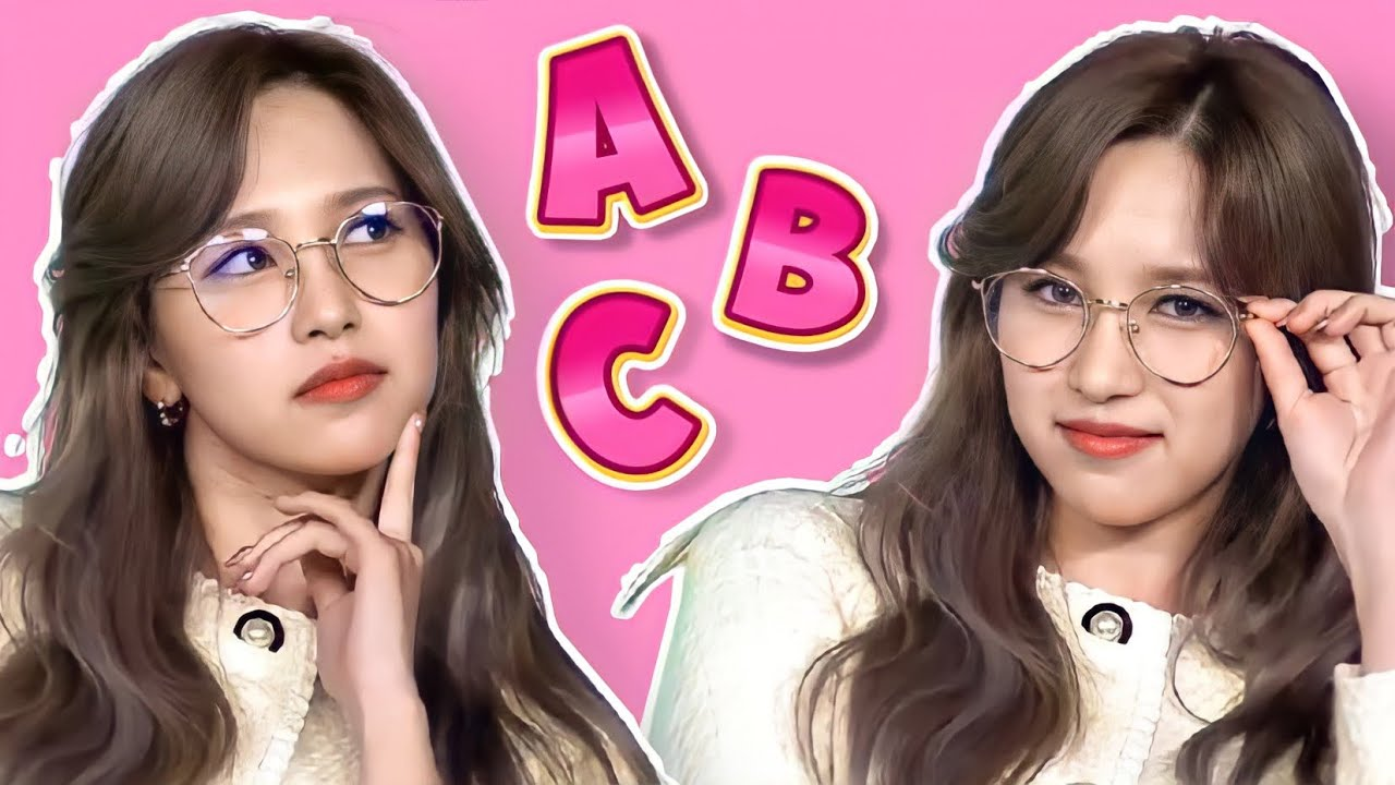 learn the alphabet with TWICE!