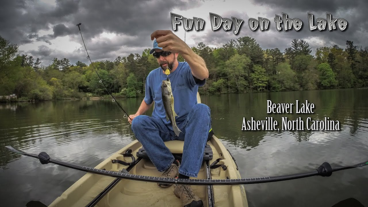 Beaver lake asheville north carolina youtube for Fishing in asheville nc