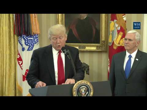 President Trump Signs Executive Orders Regarding Trade