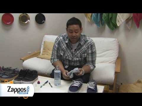 How to clean vulcanized shoes...