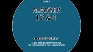 Michael Mayer - 17 & 4
