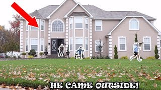 DING DONG DITCHING LANCE STEWART'S HOUSE WITH JACK DOHERTY! *SO CRAZY*