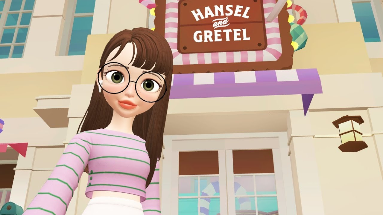 Zepeto - How To Get Inside The Hansel And Gretel Candy Shop (Zepeto Park)