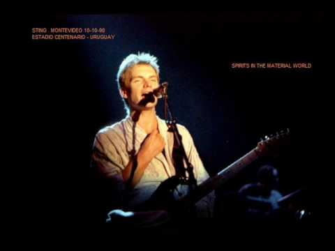 STING - spirits in the material world ( montevideo 10-10-90  uruguay )