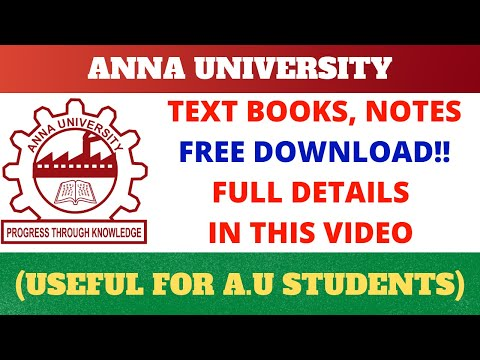 How To Download Anna University Books, Notes Freely? | Tamil | Middle Class Engineer |