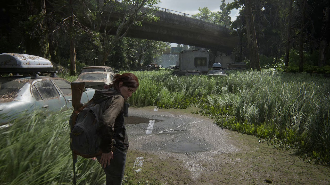 The Last Of Us Part Ii The Forest No Motion Blur Ps4 Pro 4k Youtube