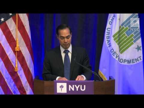 Download Youtube: Secretary Julián Castro, US Dept of Housing & Urban Development, Delivers Policy Speech at NYU Stern