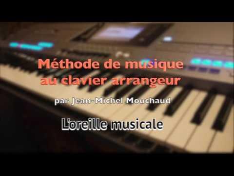 l'oreille musicale 1 - créativité - impro - clavier piano arrangeur