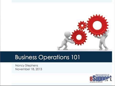 Progressive Huddle: Business Operations 101