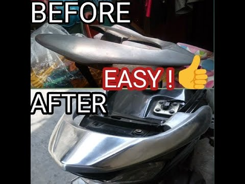 METAL POLISH | MAKE YOUR GRAB BAR  LIKE CHROME | DIY CHROME | STEP BY STEP IN DESCRIPTION