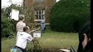 Greenfingers hits the local News! (Ingrid Pitt/Janina Faye)