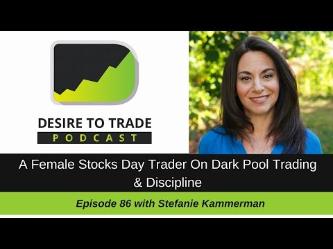 086: A Female Stocks Day Trader On Dark Pool Trading - @VolumePrintcess | Trader Interview