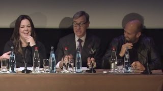 Spy - Rencontre Avec Mélissa McCarthy, Jason Statham Et Paul Feig