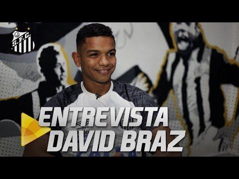 DAVID BRAZ RELEMBRA MOMENTOS VIVIDOS NO SANTOS FC