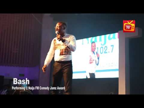Video (stand-up): Comedian Bash Has Some Stories to Tell at Naija Comedy Jamz