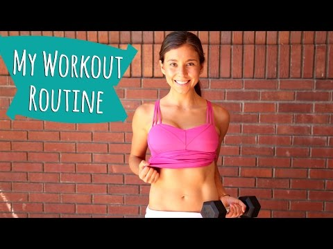 MY WEIGHT LOSS WORKOUT ROUTINE!