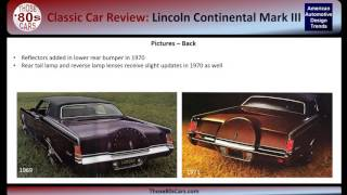 AADT Car Review: Lincoln Continental Mark III