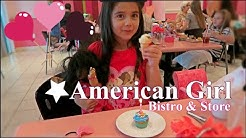 Birthday at American Girl Doll Store and Bistro  Vlog 116