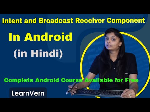 How To Create Intent and Broadcast Receiver component with an example in  Android?