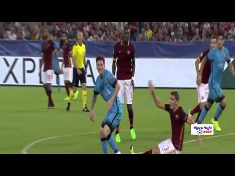 FC barcelona vs AS roma 1-1 2015 (champions league )