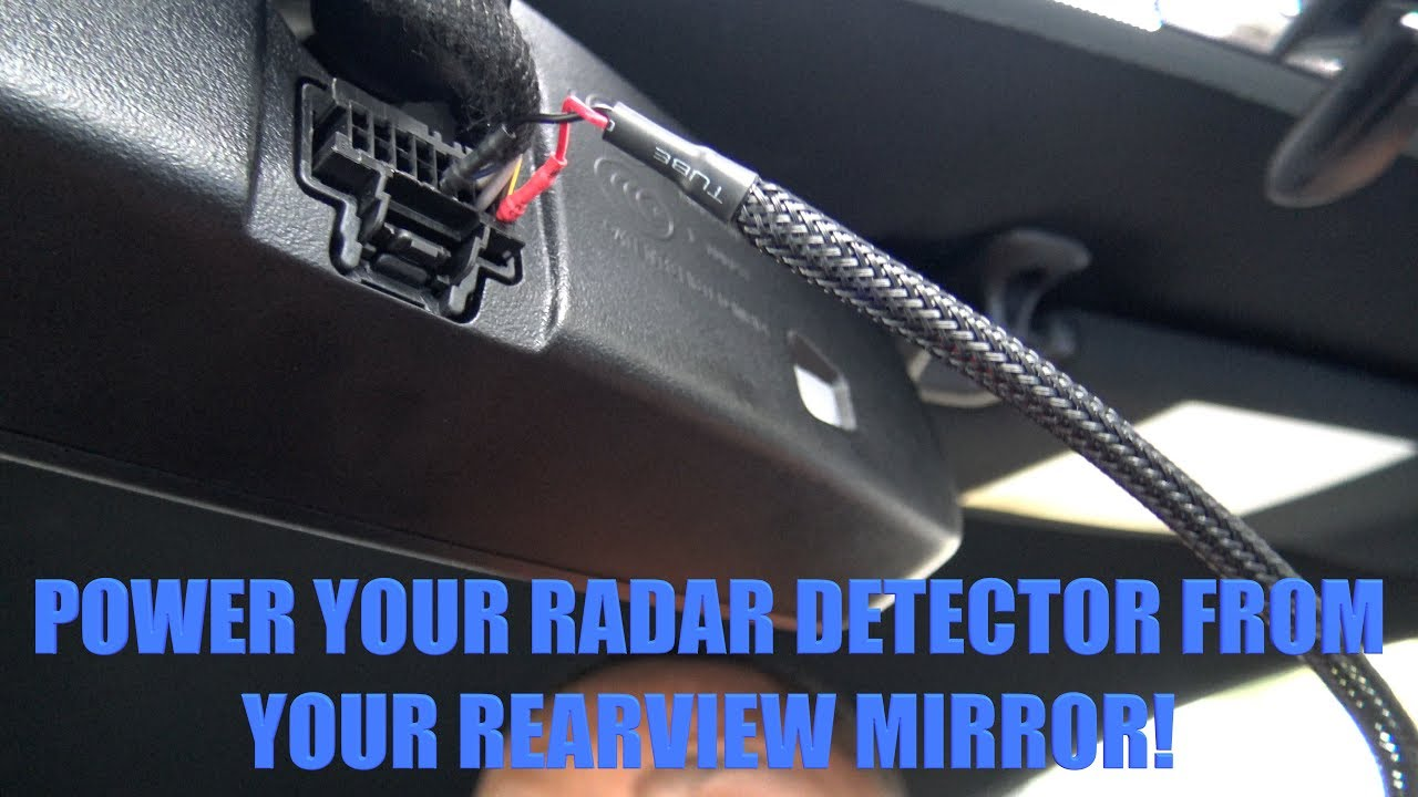 15 17 Mustang How To Power Your Radar Detector With The Rear View 2015 Wiring Diagram Mirror